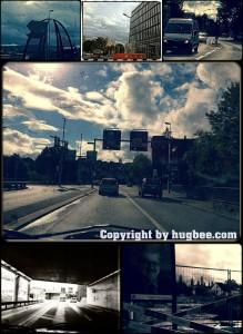 Auf den Strassen rund um Brugg